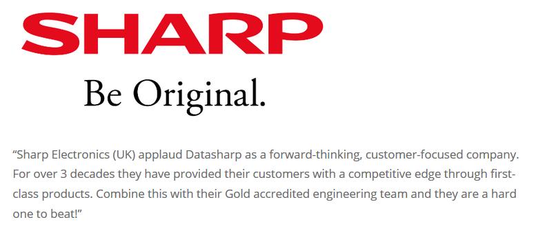Sharp Electronics Datasharp Testimonial