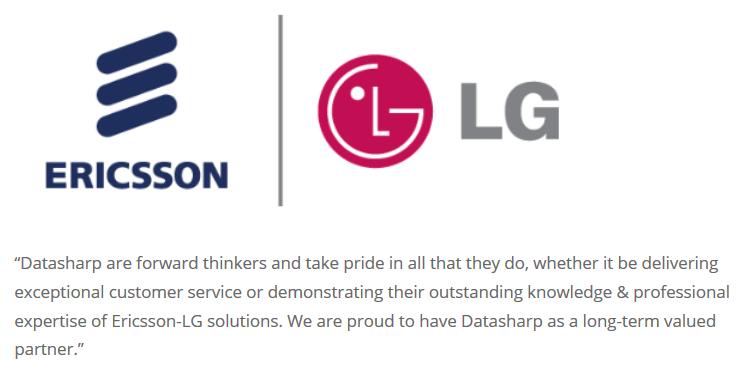 Ericsson-LG Datasharp Testimonial