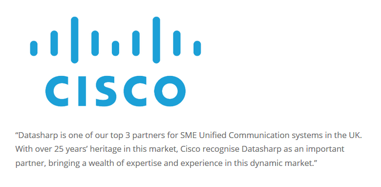 Cisco Datasharp Testimonial